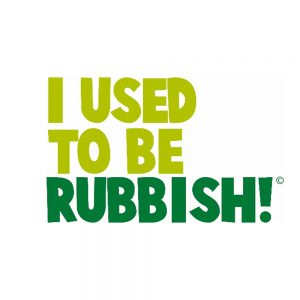 I used to be rubbish logo